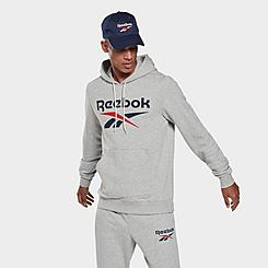 Men's Reebok Identity Big Logo Hoodie
