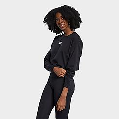 Women's Reebok Classics Foundation Vector Long-Sleeve Shirt