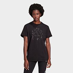 Women's adidas x NASA Constellation Badge of Sport Graphic Tee