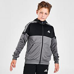 Boys' adidas Southstand Colorblock Full-Zip Hoodie