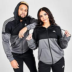adidas 3-Stripes SOST Full-Zip Hoodie