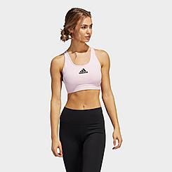 Women's adidas Don't Rest Alphaskin Padded Medium-Support Sports Bra
