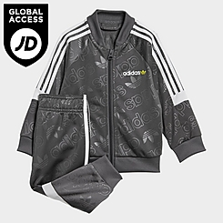 Boys' Infant and Toddler adidas Challenger Superstar Track Jacket and Pants Set