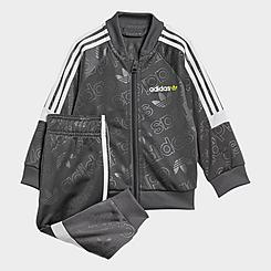 Boys' Infant and Toddler adidas Challenger Superstar Track Jacket and Pants Set