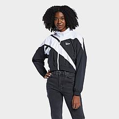 Women's Reebok Classics Vector Cropped Track Jacket