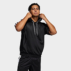 Men's adidas Summer Legend Short-Sleeve Hoodie