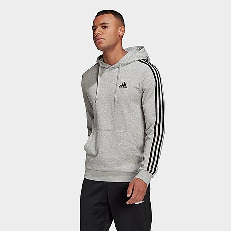 Adidas Originals ADIDAS MEN'S ESSENTIALS 3-STRIPES HOODIE