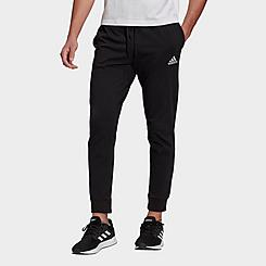 Men's adidas Essentials Single Jersey Jogger Pants