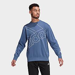 Men's adidas Essentials Giant Logo Crewneck Sweatshirt