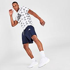 Men's adidas Essentials Gradient Logo Shorts
