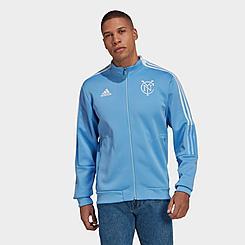 Men's adidas New York City FC Soccer Anthem Jacket