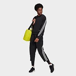 Women's adidas Sportswear Z.N.E. Wrapped 3-Stripes Cropped Pants