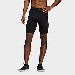 Men's adidas Techfit 3-Stripes Short Tights