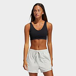 Women's adidas Cozy Yoga Training Light-Impact Sports Bra