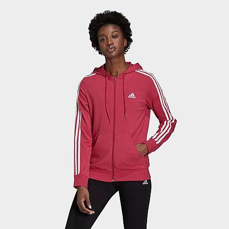 Adidas Originals Adidas Women's Essentials 3-stripes Full-zip ...