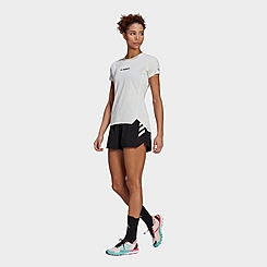 Women's adidas Terrex Parley Agravic All-Around Athletic Shorts
