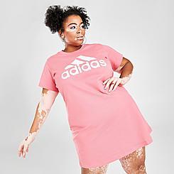 Women's adidas Essentials T-Shirt Dress (Plus Size)