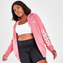Women's adidas Essentials Full-Zip Hoodie (Plus Size)