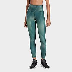 Women's Reebok Studio Lux Bold High-Rise Vector Block Training Tights