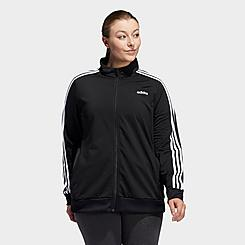 Women's adidas Essentials Tricot Track Jacket (Plus Size)