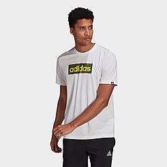 Men's adidas Camo Box Logo Graphic T-Shirt