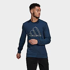 Men's adidas Sportswear Future Icons Graphic Crewneck Sweatshirt