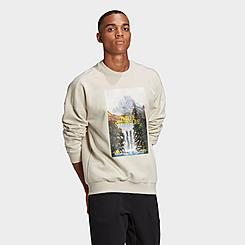 Men's adidas Sportswear Mountain Graphic Crewneck Sweatshirt