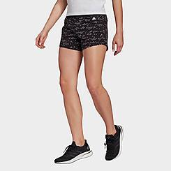 Women's adidas Sportswear Badge of Sport Allover Print Shorts