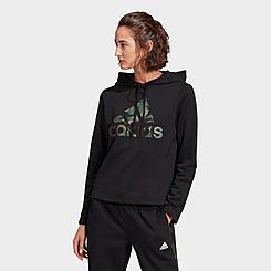 Women's adidas Essentials Camouflage Logo Hoodie