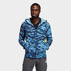 Men's adidas FreeList Camouflage Training Hoodie