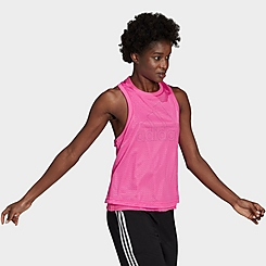 Women's adidas Sportswear Double-Layer Mesh Tank