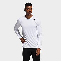 Men's adidas Techfit Fitted Long-Sleeve T-Shirt