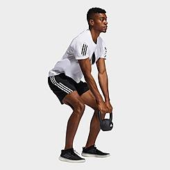 Men's adidas AEROREADY 3-Stripes 8-Inch Training Shorts