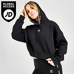 Women's adidas Originals R.Y.V. Cropped Hoodie