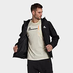 Men's adidas Basic 3-Stripes RAIN.RDY Jacket
