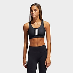 Women's adidas Believe This Primeblue 3-Stripes Medium-Support Sports Bra