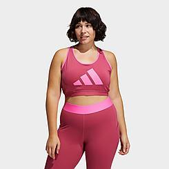 Women's adidas Don't Rest Badge Of Sport Medium-Support Sports Bra (Plus Size)