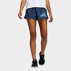 Women's adidas Woven Pacer Badge of Sport Shorts