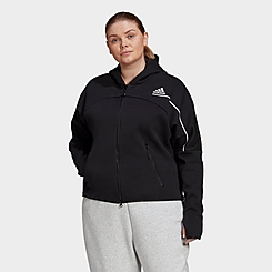 Women's adidas Athletics Z.N.E. Hoodie (Plus Size)