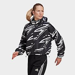 Women's adidas Sportswear Adjustable Woven Wind Jacket