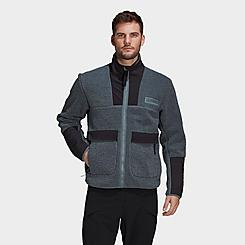 Men's adidas Terrex Sherpa Fleece Full-Zip Jacket