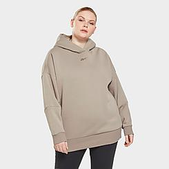 Women's Reebok Studio Retro Oversized Hoodie (Plus Size)