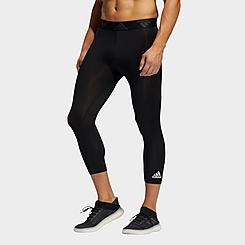 Men's adidas Techfit Three-Quarter Tights