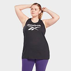 Women's Reebok Identity Tank Top (Plus Size)