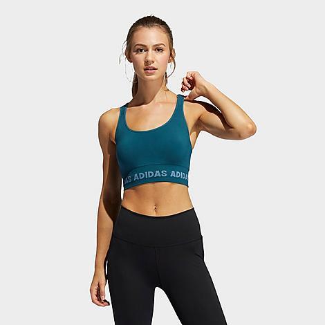Adidas Originals ADIDAS WOMEN'S TRAINING AEROKNIT LIGHT-SUPPORT SPORTS BRA