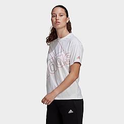 Women's adidas Giant Logo T-Shirt