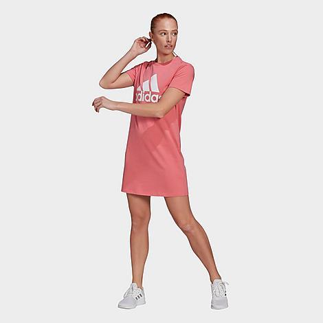 Adidas Originals ADIDAS WOMEN'S ESSENTIALS BIG LOGO TEE DRESS