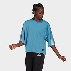 Women's adidas Sportswear 3-Stripes Primeblue T-Shirt