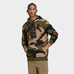 Men's adidas Originals Camo Allover Print Hoodie