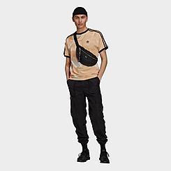 Men's adidas Originals Allover Print Camo 3-Stripes T-Shirt